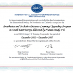 Human Study Acquires Continued Recognition from ISPO