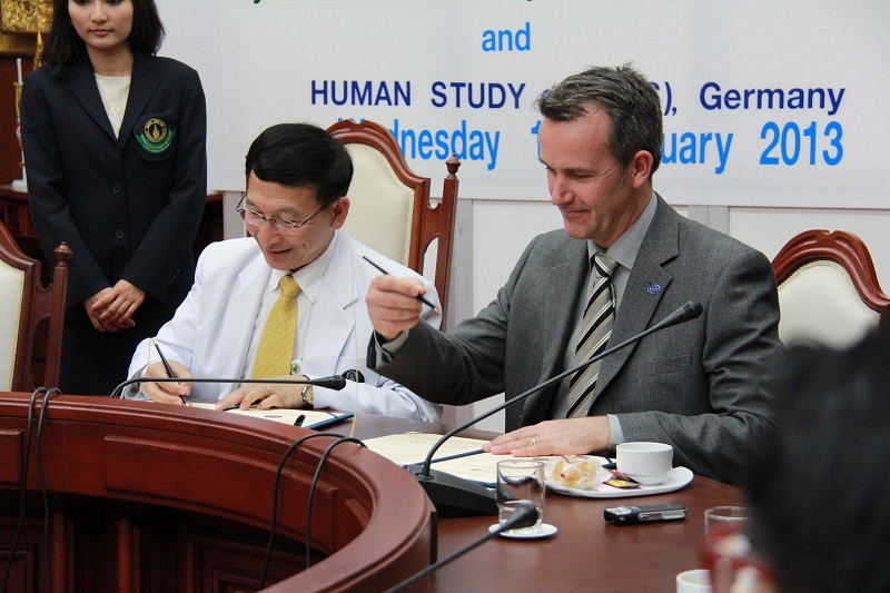 Human Study e.V. Signs Partnership and Cooperation with Mahidol University