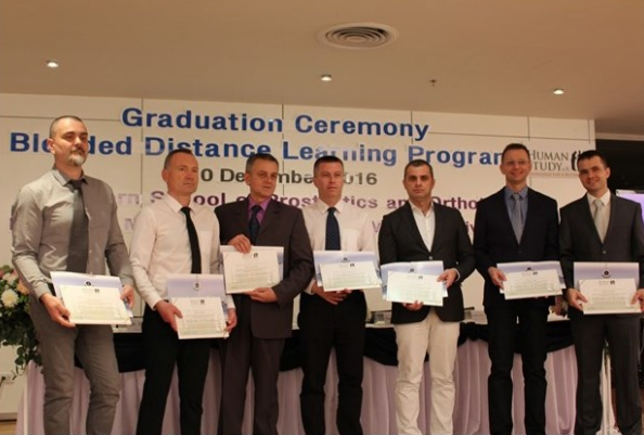 First group of successful Human Study BSc./Cat I graduates