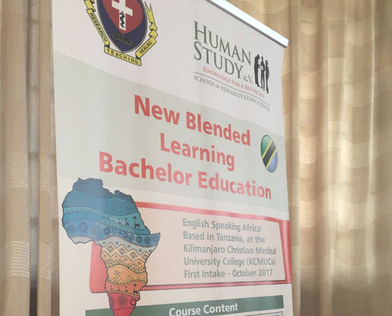 Kick off conference for the New Class of Bachelor Students in Tanzania
