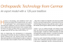"""""""Orthopedic Technology from Germany"""" by Klaus Dittmer"""