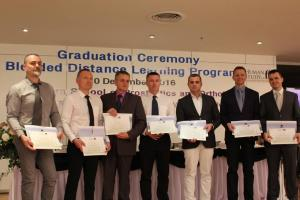 ISPO Cat I Examination and Graduation in Thailand, December 2016